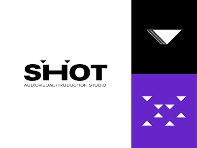 Shot - Branding + Naming logo design logos logotype isotype logo designs design music audio video shot brand agency branding agency branding identity brand identity branding design brand design branding brand