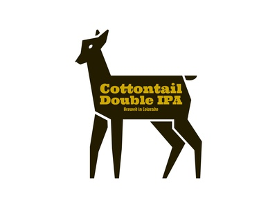 Cottontail Double IPA - Logo