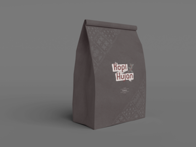 Kopi Hujan Packaging