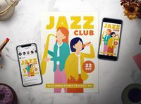 Jazz Club Flyer