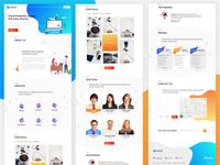 Web Agency Onepage Website