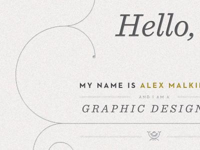 New Contact Page contact portfolio alex