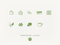 Icons for Statistics