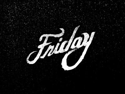 Friday friday weekend script black