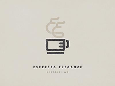 Espresso Elegance coffee espresso logo seattle mug