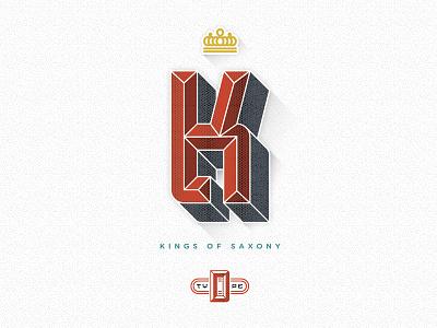 Dresden - Typeface k kings of saxony dresden beveled regal crown type