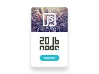 Nodejs Event Card 2016