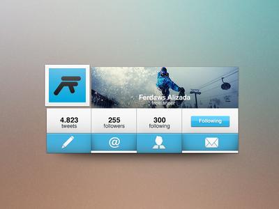 Twitter Interface Rebound
