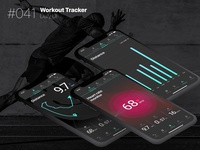 Daily UI #041 – Workout Tracker