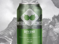 Murk Juice Double IPA for Sixth Sense Brewing Co.