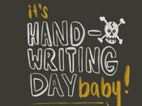 Handwriting Day PSA