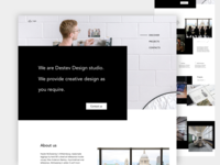 Landing page_design studio