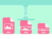 JPEG compression