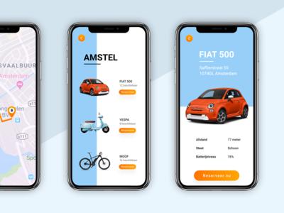 Mobility as a Service app design
