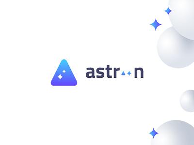 logo Astroon logo space logo design logotype