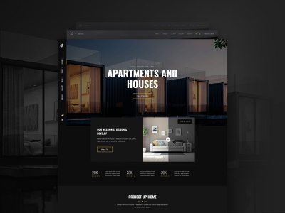 Uphome - Home Page homepage home design themeforest theme uidesign