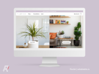 Florish - E-commerce site for buying plants
