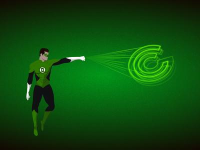 Green Lantern - Illustration