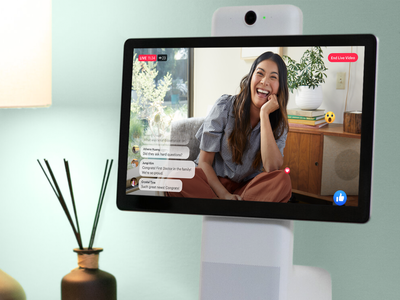 Facebook Live App on Portal broadcast social network ui design live app facebook