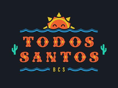 Todos Santos ocean jewels sun cactus