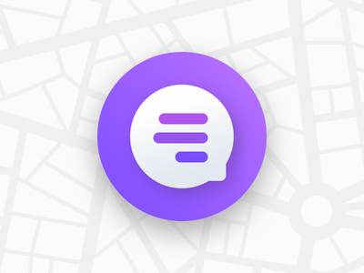 Quick Message Bubble life360 map button chat messages