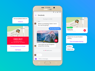 Chat Bot chat bot ui threads simple messages material clean bot chatbot chat bubbles android