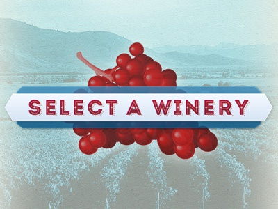 Select a Winery button