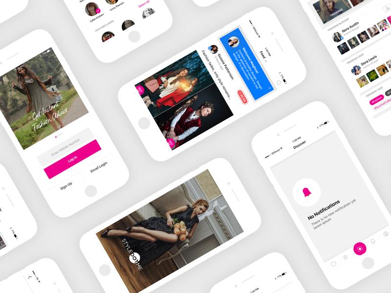 StyleDotMe Application Design