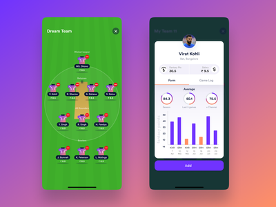Fantasy Sports App design studio india 999watt
