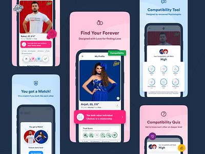 TM - App Store Images dating app blue pink design app ios app store images 999watt app store