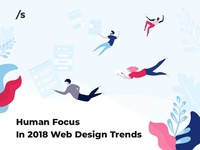 Human Focus In 2018 Web Design Trends