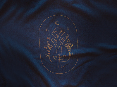 CB III hieroglyphics illustration line gala ball stamp mark sigil emblem