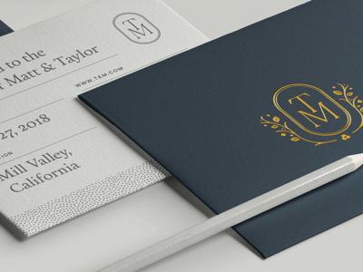 T&M Wedding Invitations