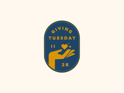 Giving Tuesday Badge charity water water thanksgiving charity philanthropy giving giving tuesday