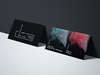 Hashtag Art | Business Cards