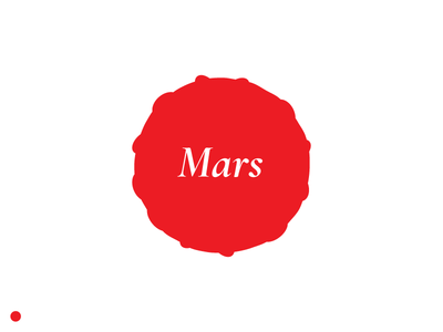 Red Symbols: Mars