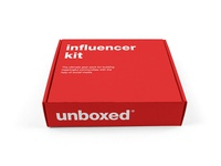 Unboxed influencer kit package