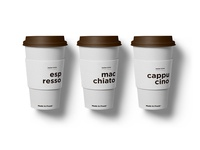 Coffee cups for Made in Fresh