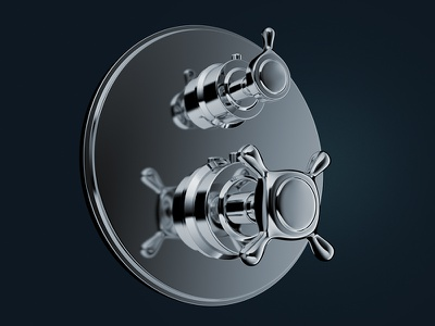 Axor Collection :: 3D packshot cgi product 3d product visualization 3d faucet