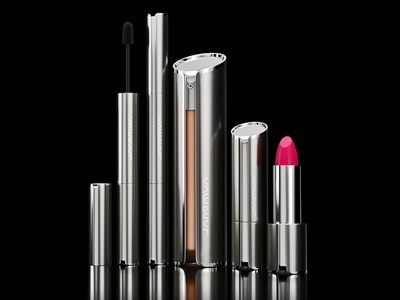 Janemua packaging design luxury cosmetics 3d bottle 3d visualization 3d product