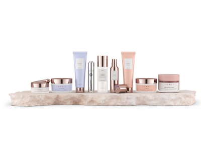 MONAT COSMETICS packaging beauty skincare cosmetics vray render 3d visualization 3d product 3d art