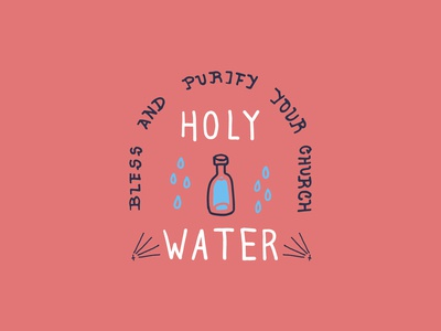 Holy Water Red