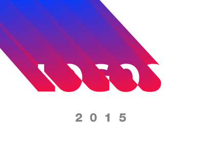 Logo Folio 2015 application ios behance app graphic typography clean minimal uiux branding logofolio logo
