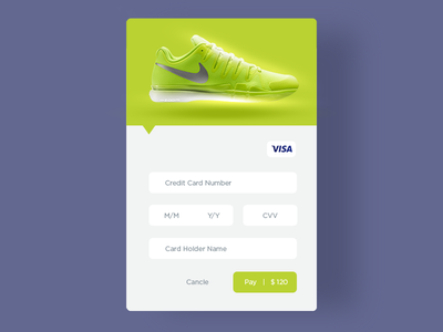 Credit Card Checkout - Daily UI 002 clean simple ui uiux credit card check out beginner pop up product challenge daily ui