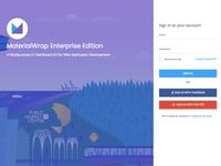 Login and Register Form - Enterprise Edition
