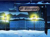 St Petersburg Background