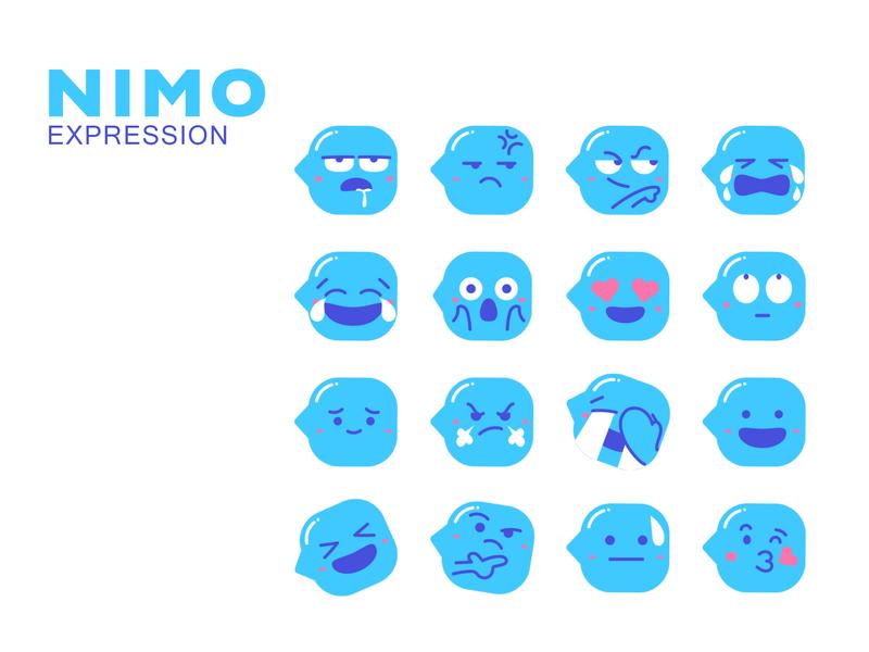 Nimo Expression expression illustration cartoon