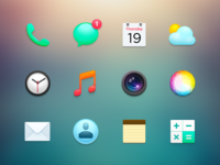 Mobile OS Icons