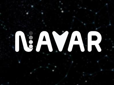 NAVAR | Navigation through Augmented Reality logo design indoor navigation augmented reality