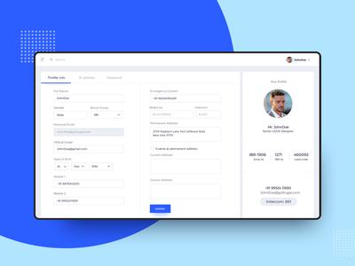 ProfileUI Design